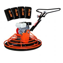 เครื่องขัดมันพื้นปูน 80-100 ซม. (Premium) + เครื่องยนต์ 6.5 HP
